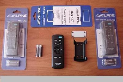 Alpine Rue-4202 Brand New Remote Control With Bracket, Best Offer