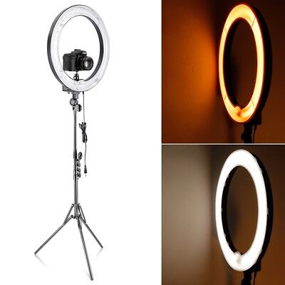 Neewer 18-Inch 75W Dimmable Ring Fluorescent Flash Light with Light Stand Kit