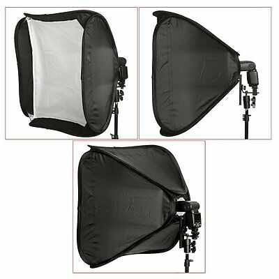 "Neewer 16""/40cm Portable Foldable Softbox Kit f  Nikon,Canon&Small Strobe Flash"