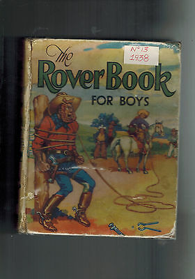 ROVER ANNUAL 1938 from Rover Comic - D. C. Thomson