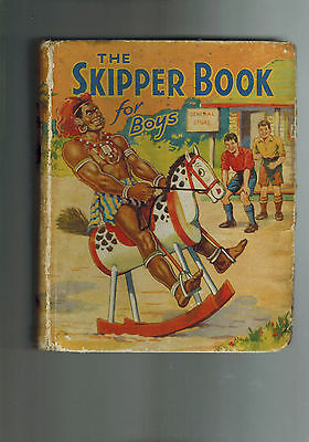 SKIPPER BOOK FOR BOYS 1936 from Skipper Comic G D. C. Thomson