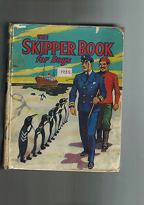SKIPPER BOOK FOR BOYS 1935 from Skipper Comic G D. C. Thomson