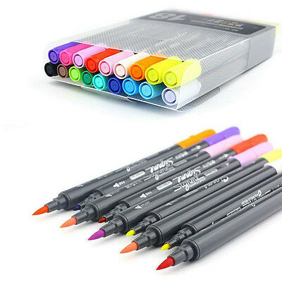 Zig Wink of Brush (Universal) Multi colours available. Marker Pen 12/18/24 Color