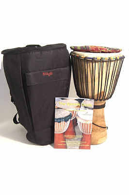 Knock on Wood Starter Djembe Pack, Small