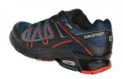 Gore-Tex Salomon XT Pulse GTX V0 Blau Schwarz Rot Wandern Walking Damen Outdoor