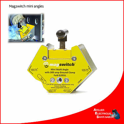 Positionneur magnétique Magswitch mini multi-angles