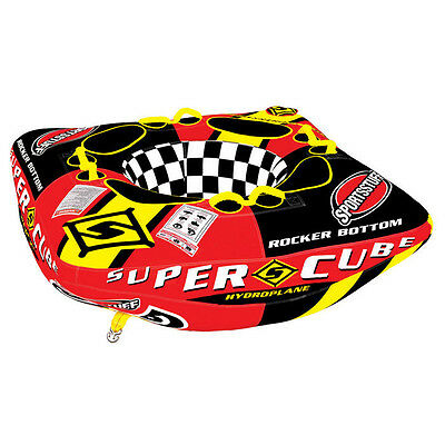 SPORTSSTUFF SUPER CUBE TOWABLE TUBE 4 RIDERS Display Model Free Shipping 53-1890