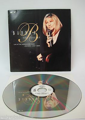Barbara Streisand -  Live At The Arrowhead Pond | Laserdisc NTSC English