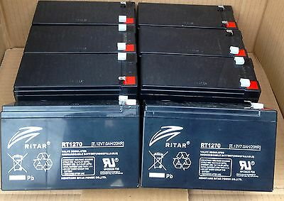 RBC105, rbc105 replacement, apc battery, apc batteries x 8