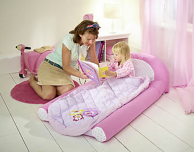 Girls My First Deluxe Ready Bed readybed sleeping bag toddler bed
