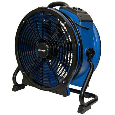XPOWER X-48ATR 115-Volt 1/3 HP Professional High Temperature Motor Axial Fan