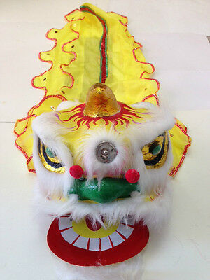 "13"" Chinese New Year Lion Dragon Head Dance Decoration"