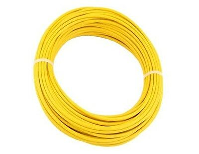 Bicycle Bike Brake Cable housing teflon lined by the foot Yellow with ferrules