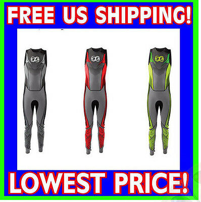 Jet Pilot  Ryder Race John Wet Suit Red Green Gray ALL SIZES Free Shipping