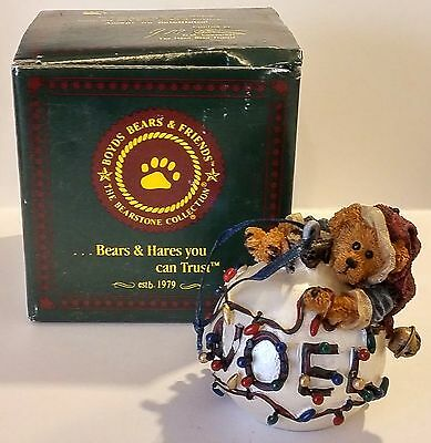 1998 The Boyds Collection Noel Bruinski Da Electrician  Christmas Ornament China