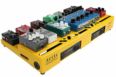 "Accel XTA25 Guitar Effects Modular Pedalboard and riser plate ""Without Case"""