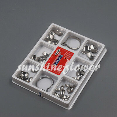 100Pcs Dental Matrix Sectional Contoured Metal Matrices No.1.398lmws 35um HARD