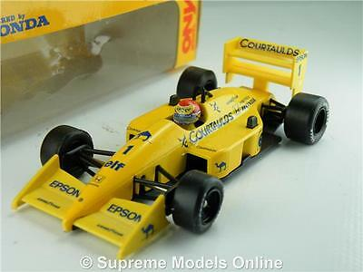 Nelson Piquet Model Car Lotus 100T 1:43 Size Formula One F1 Onyx Race T34Z