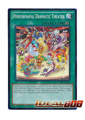IN HAND X3 YUGIOH PERFORMAPAL CALL SECE-EN067 COMMON 1ST