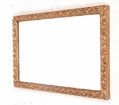 Antique Vintage French Mirror Gilt Mirror Neoclassical Influence Small