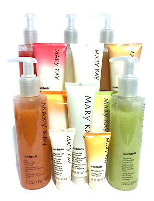 Mary Kay Satin Hands Set & Body~You Choose~Fragrance Free~Peach~Vanilla~Lotion!