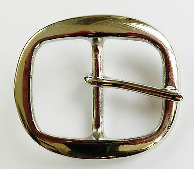 "3/8"" to 2"" NICKEL PLATED Brass Bridle Harness  Buckle 10 mm - 50 mm - 9 Sizes"