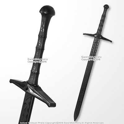 Functional Medieval Two Handed Excalibur Polypropylene Battle Training Sword