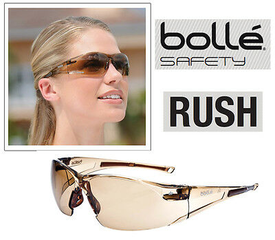 Bolle RUSH Twilight Lens Safety Specs * Medium Impact Genuine item Safety Glasse