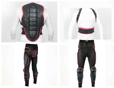 Armr Moto Motorcycle Motorbike Jacket Back Spine Protector Insert