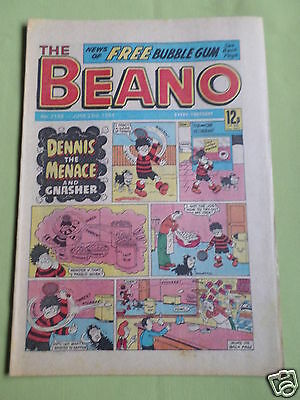 The Beano  - Uk Comic - 23 June  1984  - #2188 - No Free Gift With This Issue