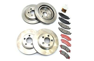 Ford Territory Front And Rear Discs And Brake Pads 2004 On