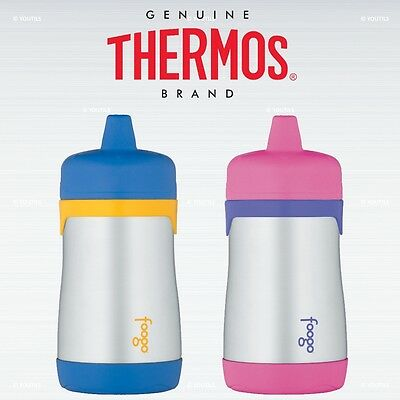 Thermos Foogo Stainless Steel Vacuum Insulated Drink Bottle for Kids 320ml