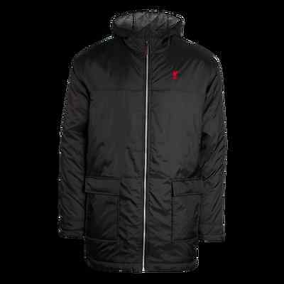 Liverpool FC  LFC Mens Long Padded Jacket Official