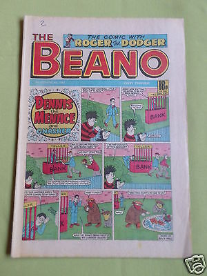 The Beano  - Uk Comic - 4 April  1987  - #2333