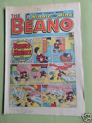The Beano  - Uk Comic - 20 June  1987  - #2344
