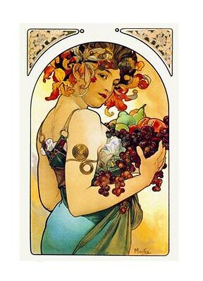 Mucha Ladies  Miniature Cotton Applique Collection 8A FrEE ShiPPinG WoRld WiDE