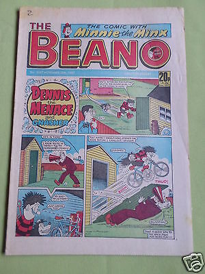 The Beano  - Uk Comic - 28 Nov 1987  - #2367