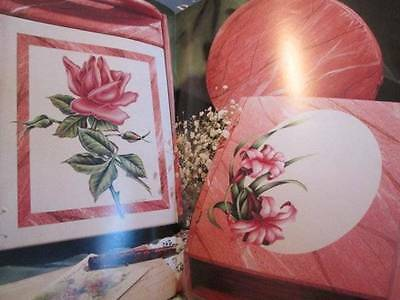 Faux Finish Florals Painting Book-Myer/Jones-Roses/Sunflowers/Daisies/Background