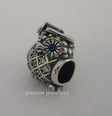 Authentic Genuine Pandora Sterling Silver Graduated Owl Charm 791502NSB