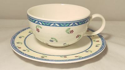 Villeroy & Boch Adeline Cup and Saucer Set (s) In Excellent Condition