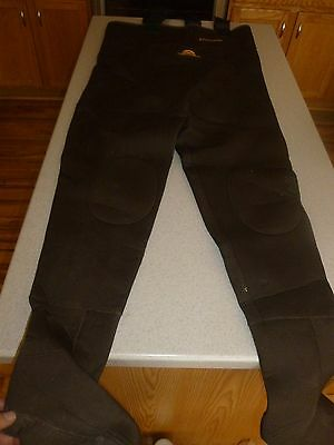 FISH AMERICA Pro Gear Neoprene Chest Waders Brown sz L Large