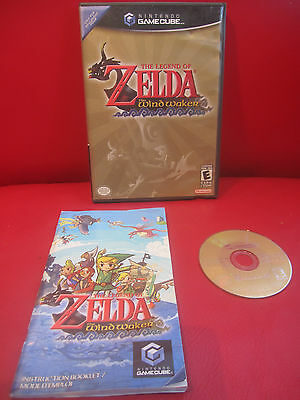 Legend of Zelda: The Wind Waker (Nintendo GameCube, 2003) Tested COMPLETE
