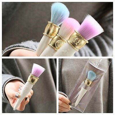 NEW Les Merveilleuses Collection Laduree Cheek Brush Best purple pink blue