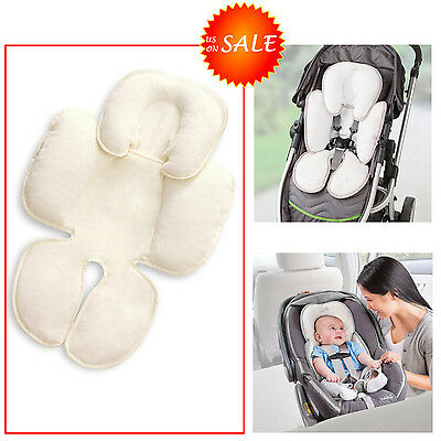 Snuzzler Infant Head Body Support F/ Baby Car Seat Stroller Bouncer Swing Cotton