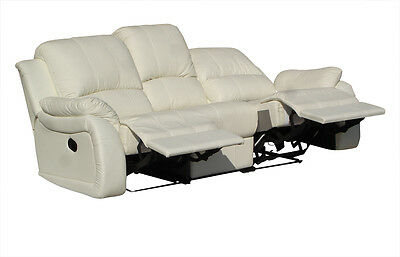 Voll-Leder Fernsehsessel Couch Sofa Relaxsessel Polstermöbel 5129-3-W sofort