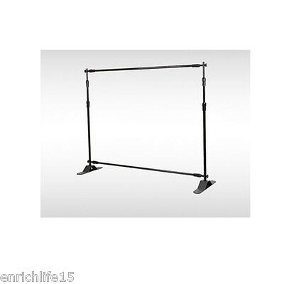 3.6ft-8ft Width 3ft-8ft Height Adjustable Step And Repeat Advertising Banner Sta