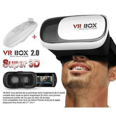 VR BOX Headset 2.0 with Bluetooth Control
