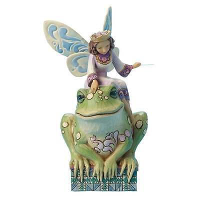 Jim Shore Have You Kissed A Frog Today - Princess Fairy Figurine BNIB 4014980