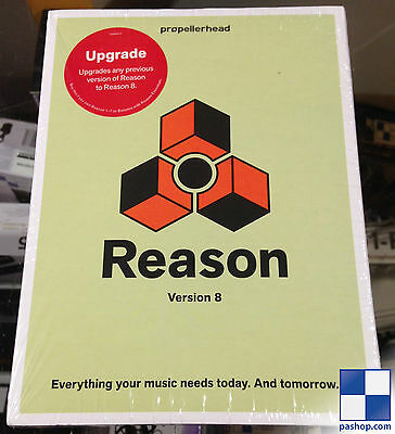 Propellerhead Reason 8 Upgrade - (upgrade from any version!)