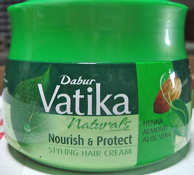 Dabur Vatika Naturals Nourish & Protect Styling Hair Cream 140ml USA SELLER